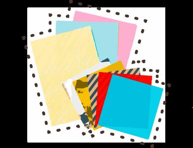 色紙や画用紙