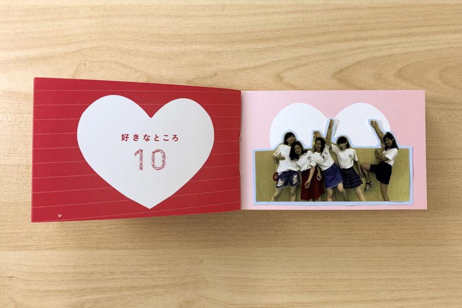 アルバム作り方:【好きなところ10】写真を貼る