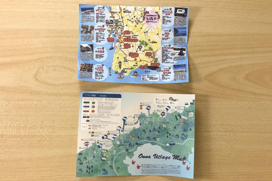 アルバム作り方:ガイドマップを用意する