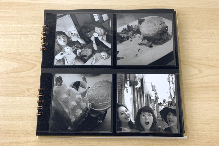 アルバム作り方:【タイトルページ】写真を入れる