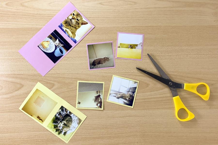 アルバム作り方:写真を用意する②