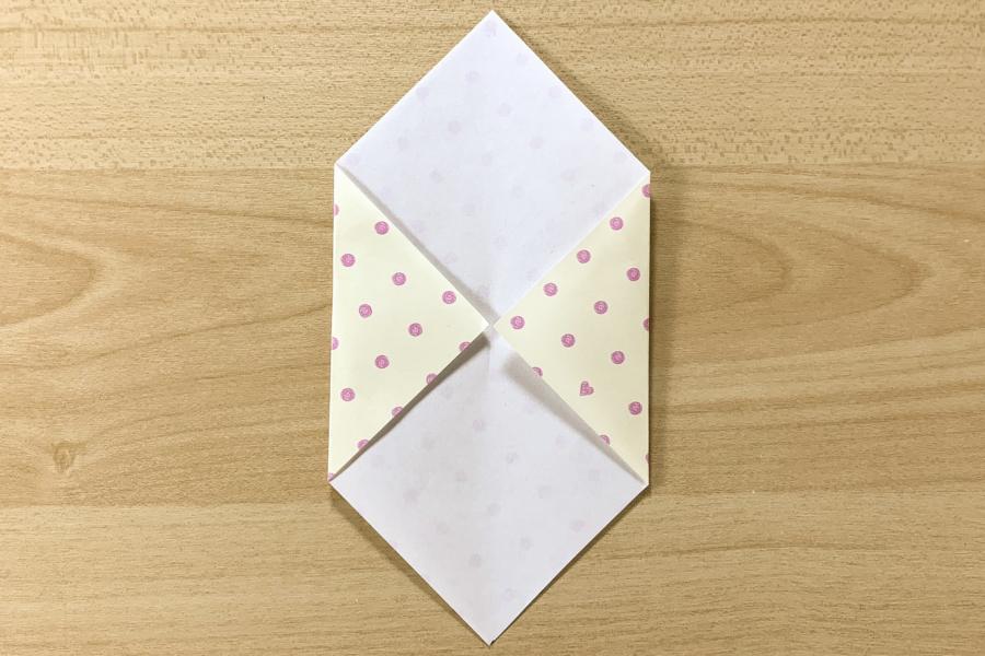 アルバム作り方:封筒をつくる②