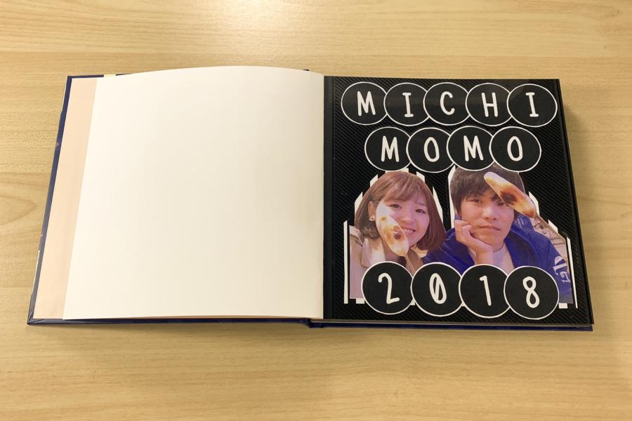 アルバム作り方:タイトルページをつくる