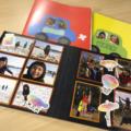 毎年のテーマカラーを決めてつくる、表紙にこだわるこどもの思い出アルバム