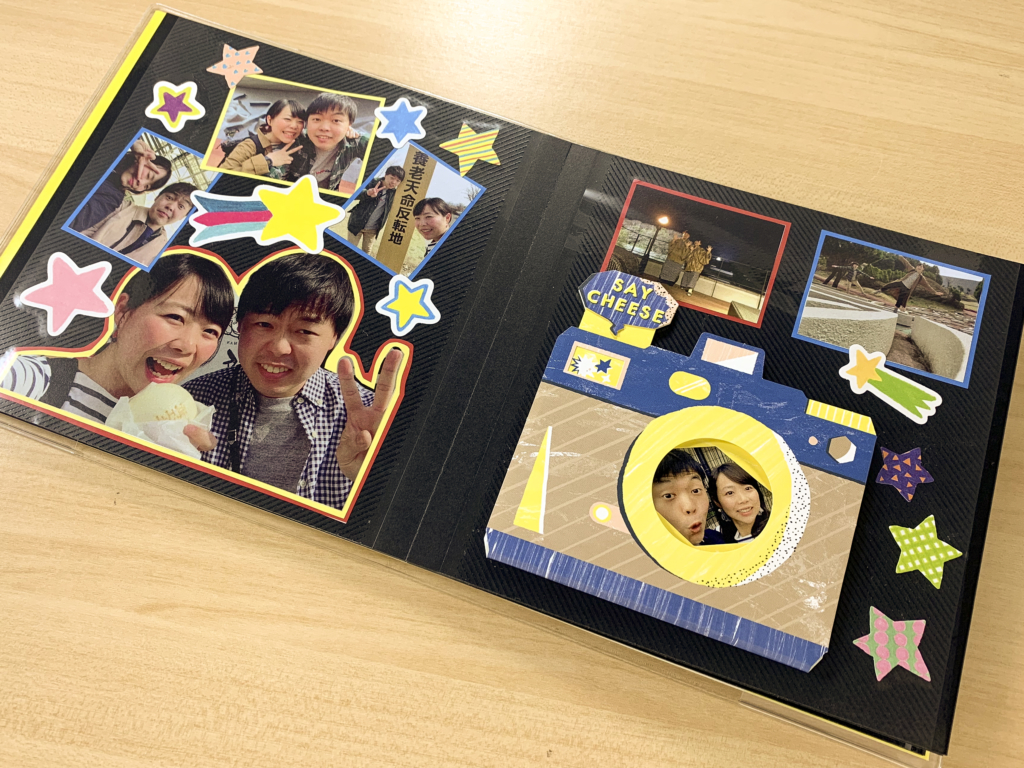 3つの仕掛けでつくる簡単記念日アルバム!