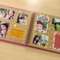 写真もメッセージカードも簡単に作れる!可愛いハートの寄せ書きアルバム