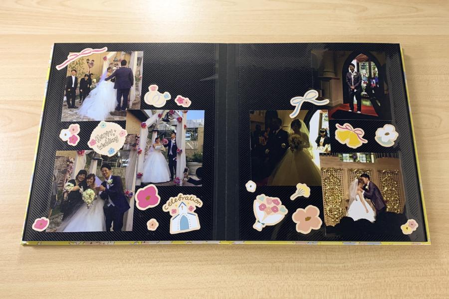 アルバム作り方:メインページ1をつくる②【ポップアップページ】
