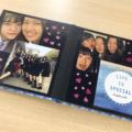 ましかく写真とカードをペタペタ貼るだけ!簡単部活の思い出アルバム