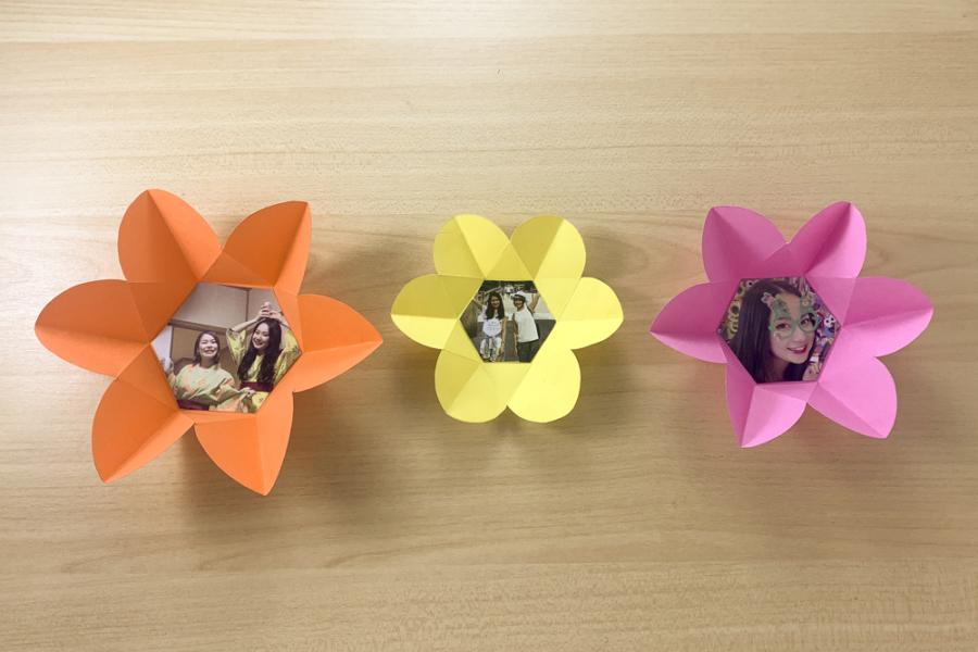アルバム作り方:仕掛けパーツをつくる⑨【開くお花の仕掛け】
