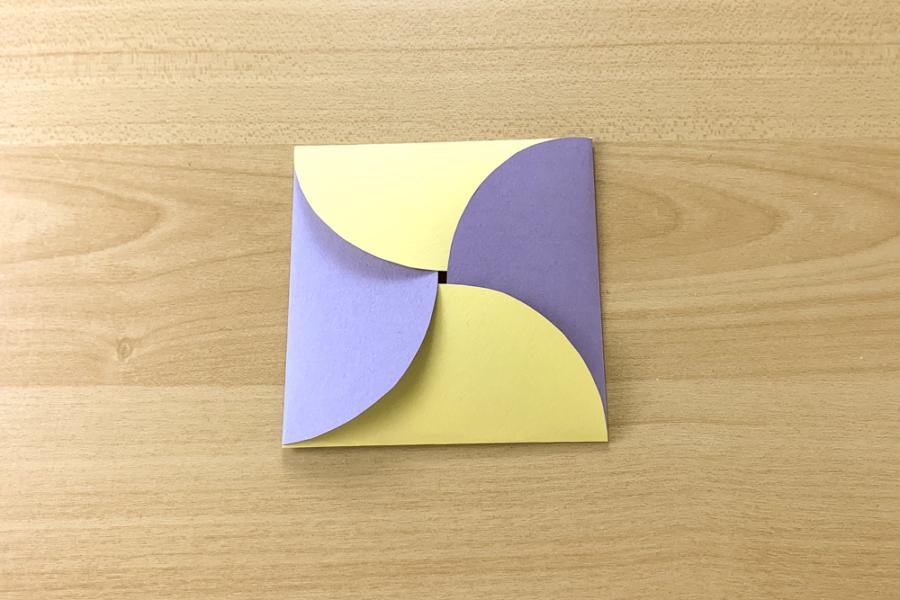 アルバム作り方:仕掛けパーツをつくる④【お花】