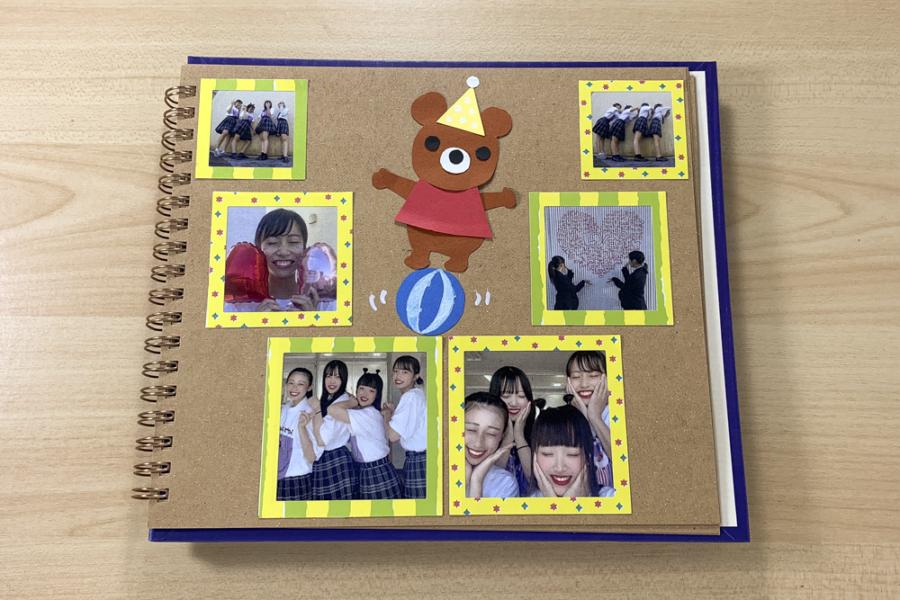 アルバム作り方:メインページをつくる②【クマ】