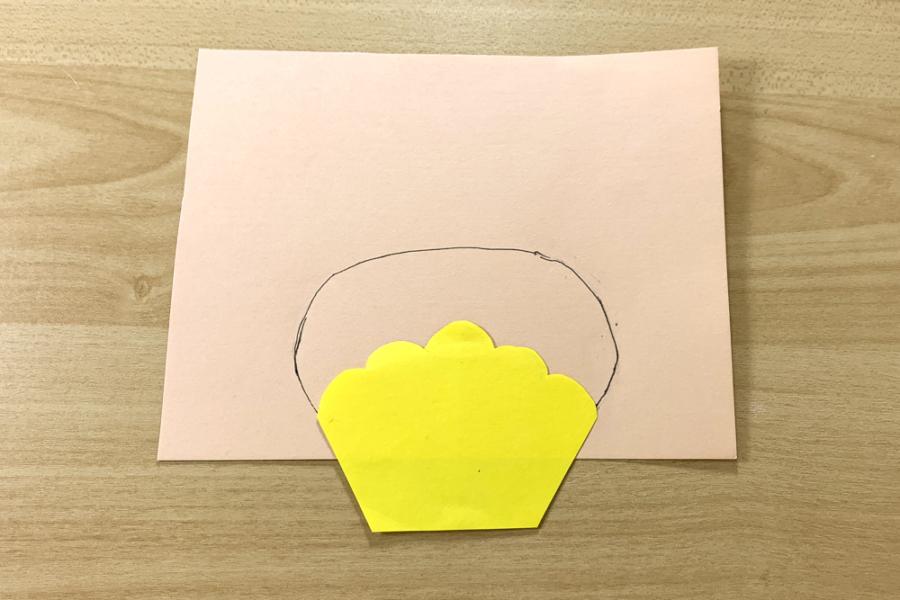 アルバム作り方:ケーキをつくる