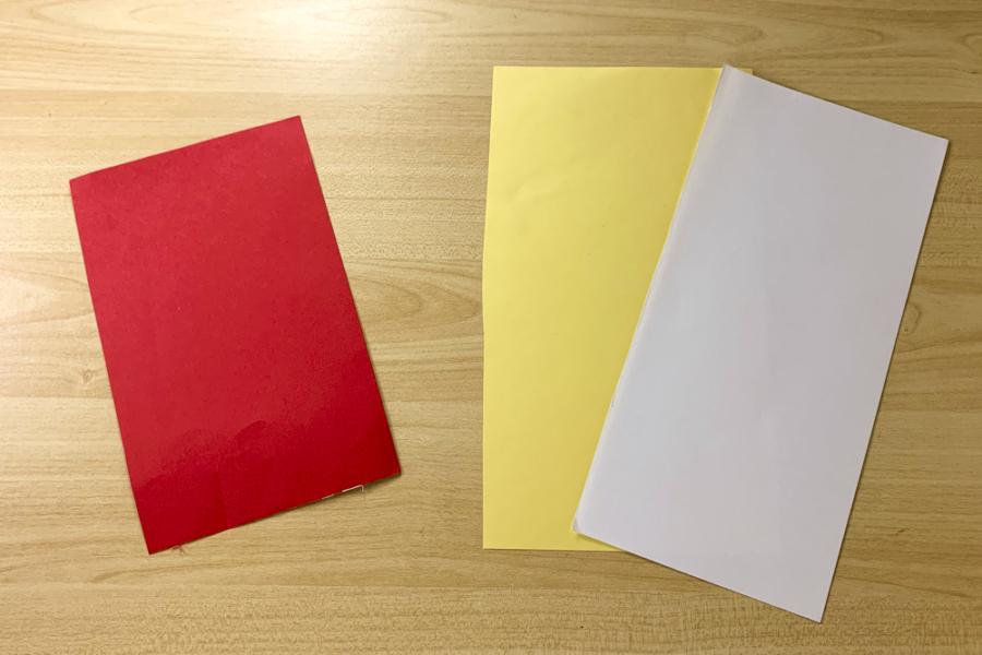 アルバム作り方:色を決める