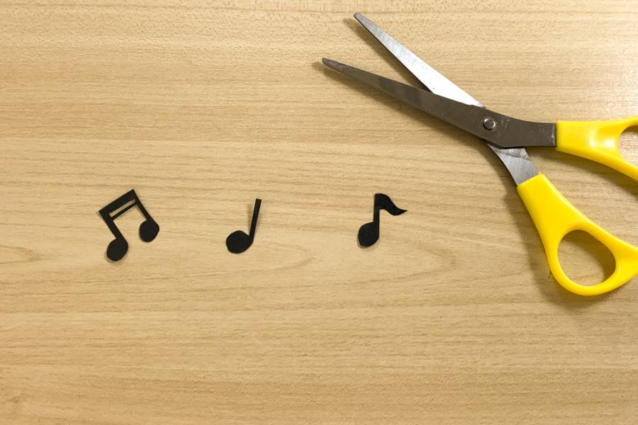 アルバム作り方:音符①