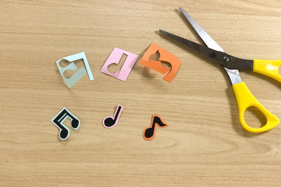 アルバム作り方:音符②