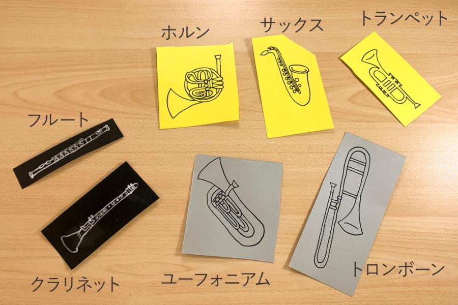 アルバム作り方:楽器①