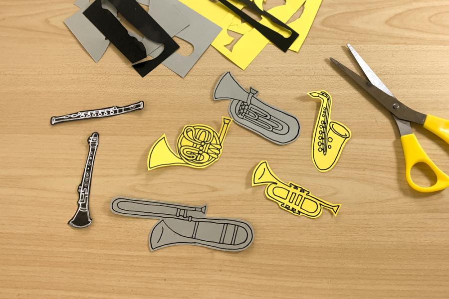 アルバム作り方:楽器②