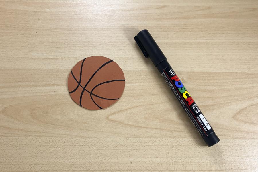 アルバム作り方:バスケットボール②