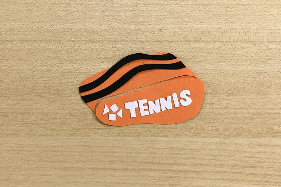 アルバム作り方:テニスラケットバッグ②
