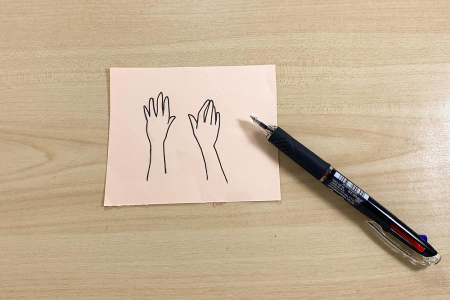 アルバム作り方:手①