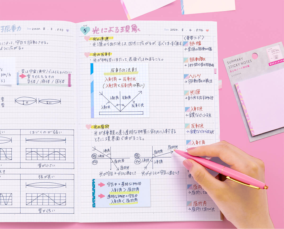 サマリーノートシリーズ &STUDIUM