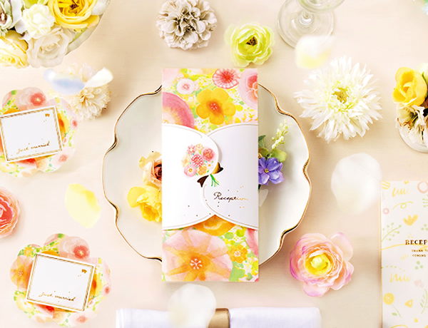 花咲く招待状