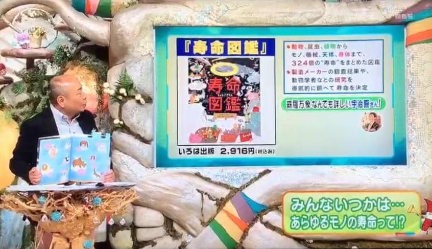 『寿命図鑑』が毎日放送「ちちんぷいぷい」にて紹介されました!
