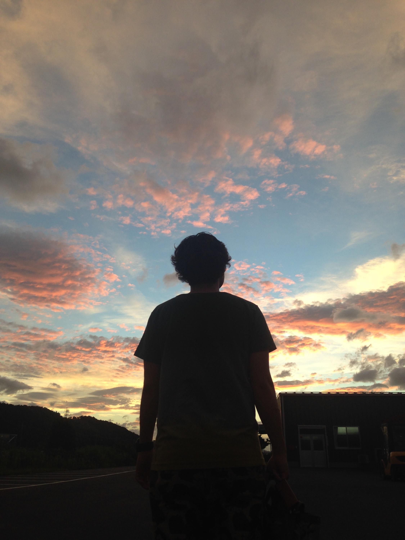 福井県小浜市の夕日