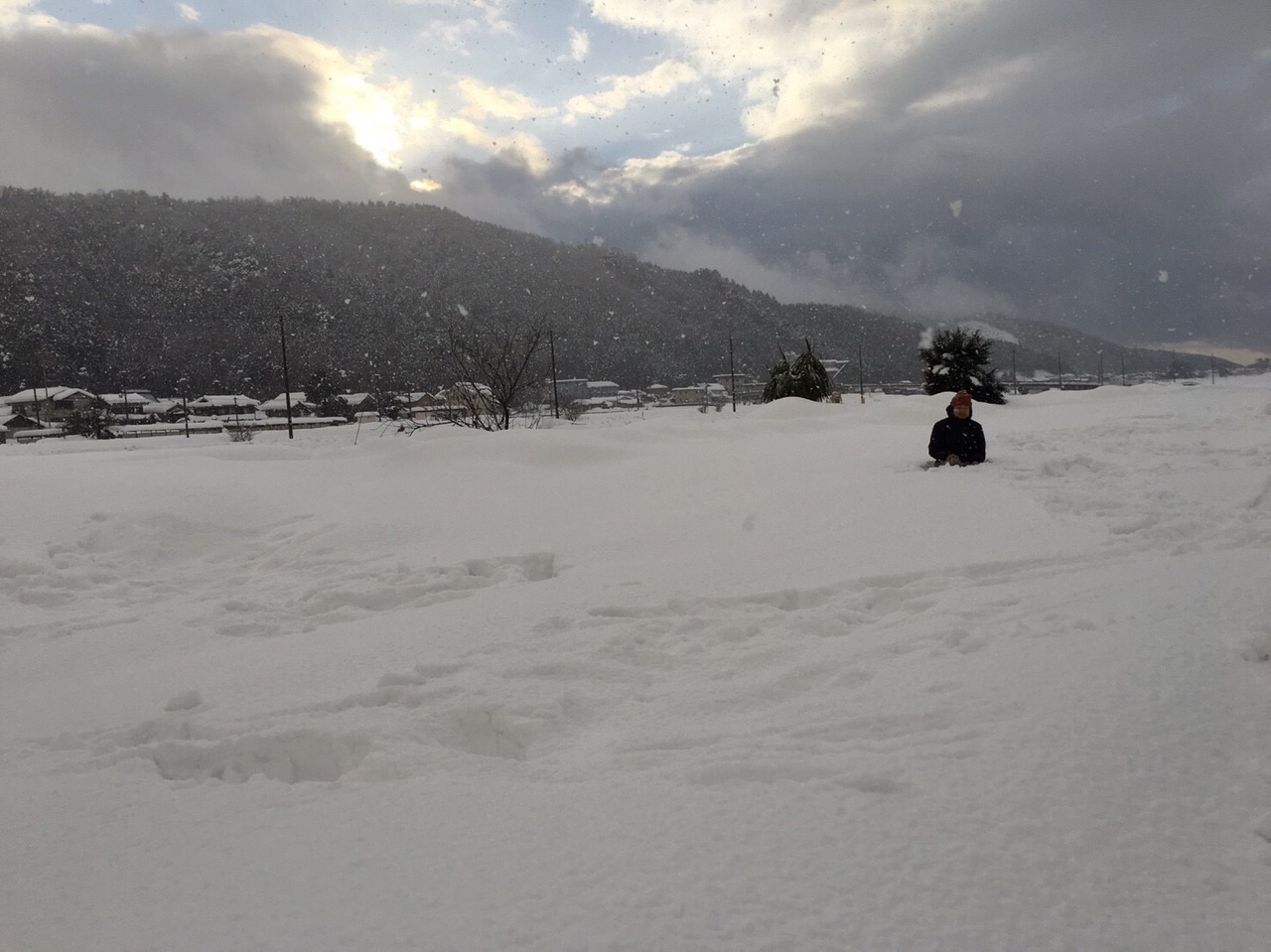 福井県小浜市 豪雪で人埋まる