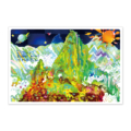 世界遺産アートポストカード