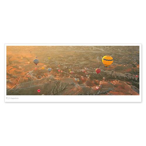絶景パノラマポストカード カッパドキア/トルコ