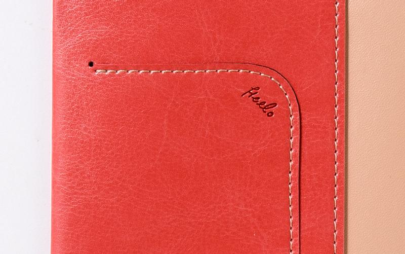 手帳カバーhelloロゴ