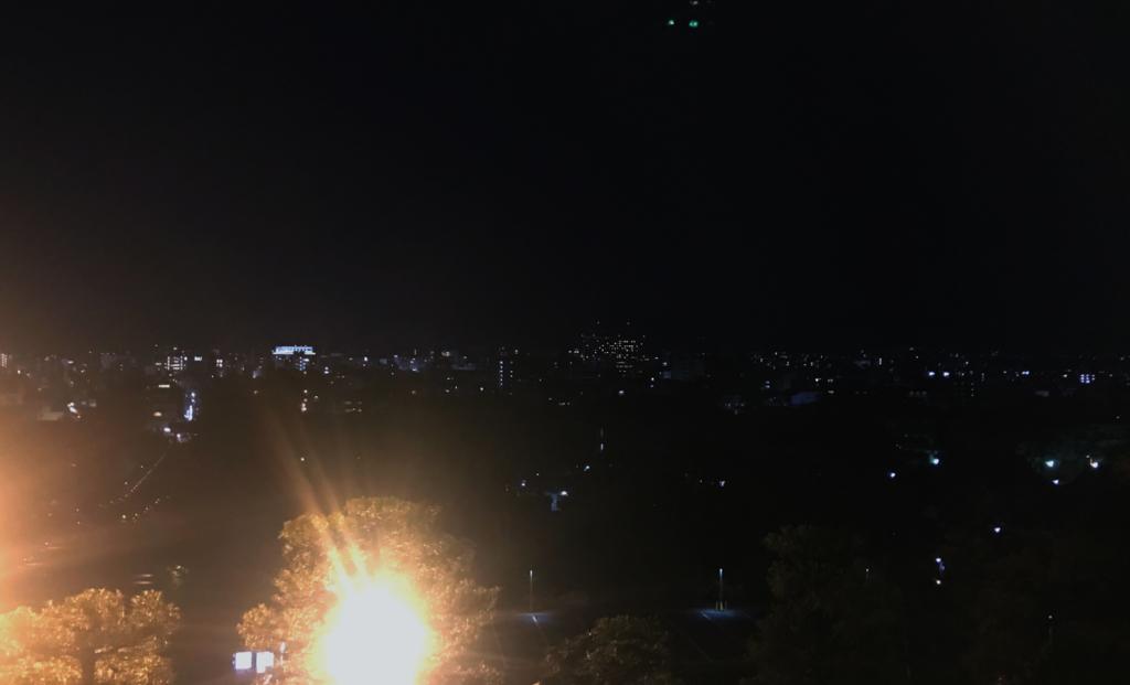 知恩院三門からの夜景