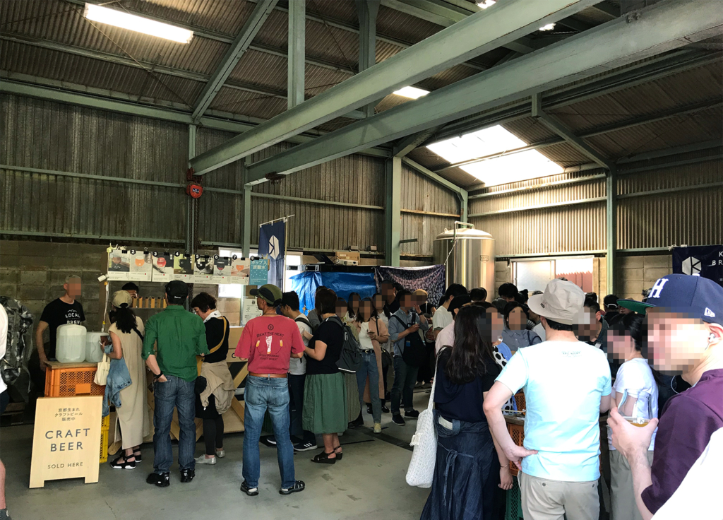 KBC祭り 木樽を熟成する倉庫