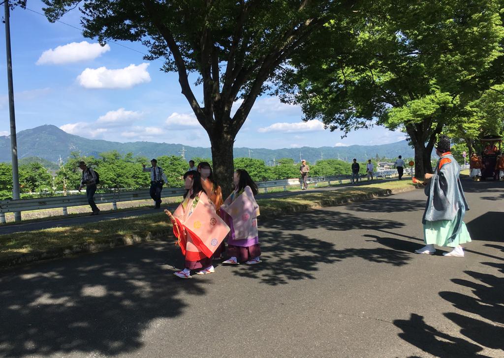 葵祭 子供 巡業