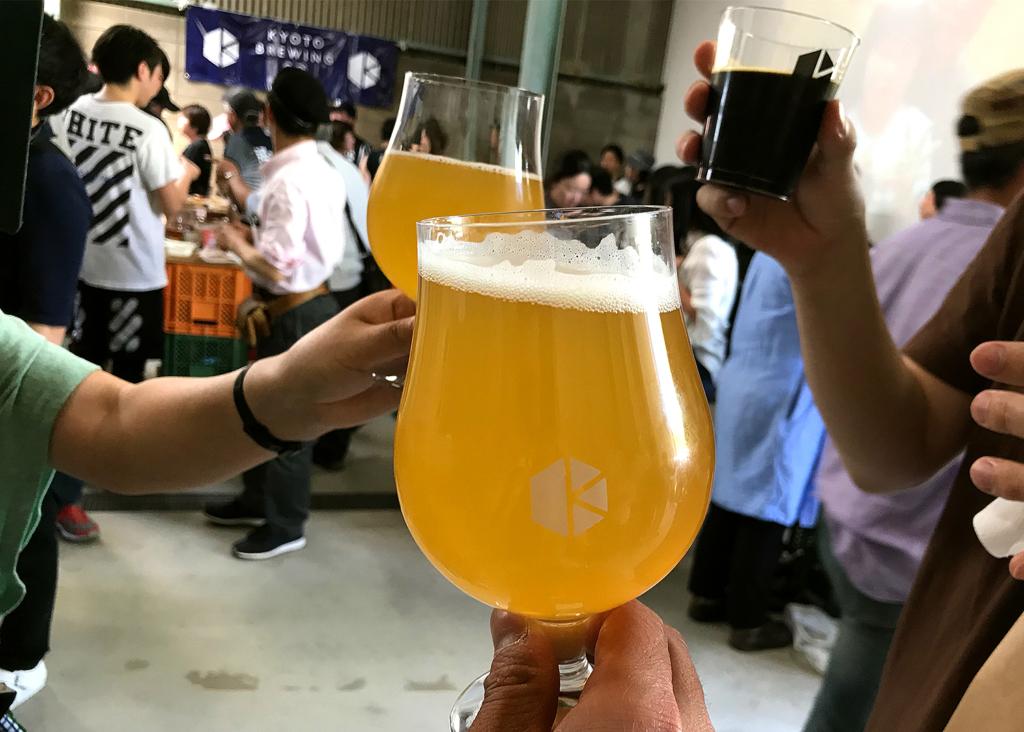 四頭龍は4周年記念の限定ビール