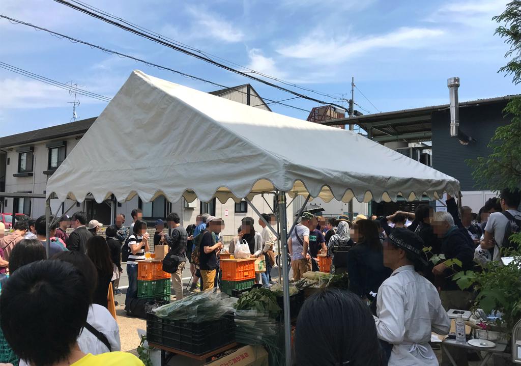 京都醸造株式会社 KCB祭り混雑