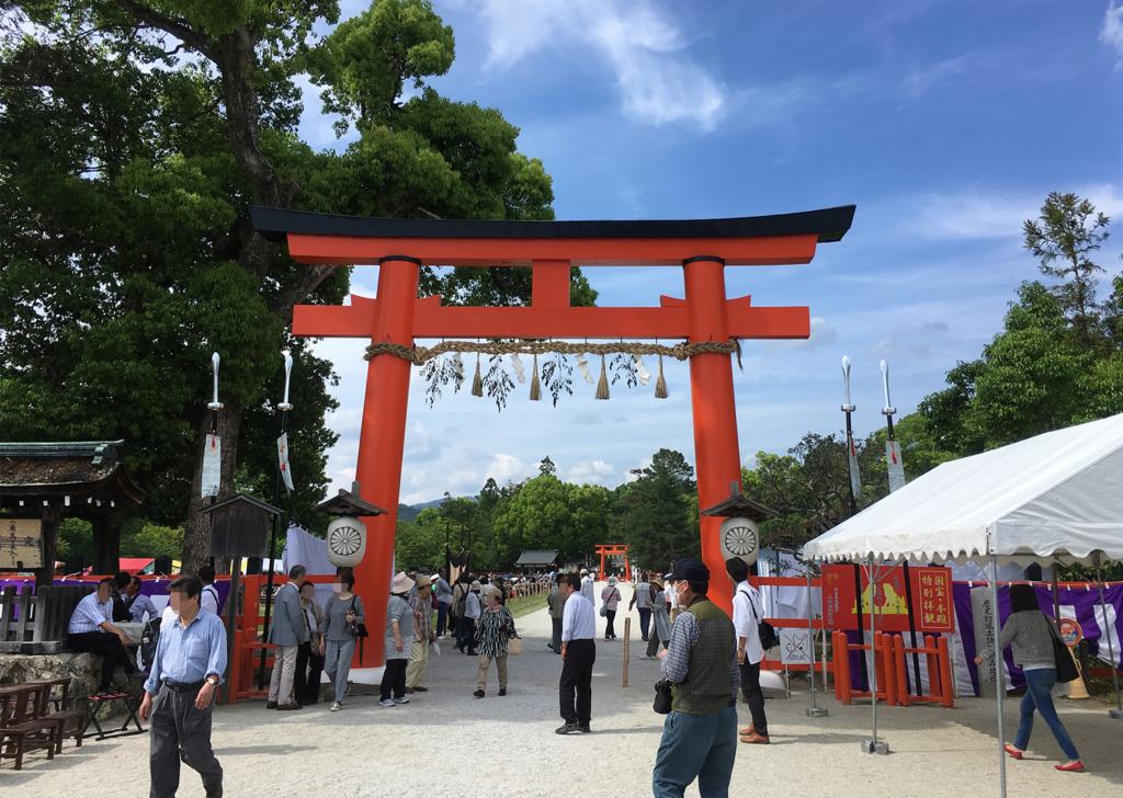 世界文化遺産 上賀茂神社 鳥居