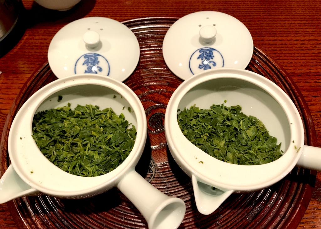 一保堂 煎茶 新茶 出がらし
