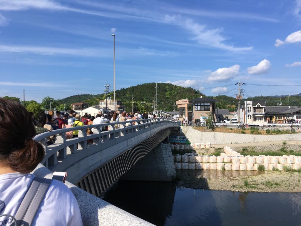 葵祭 混雑 観光客