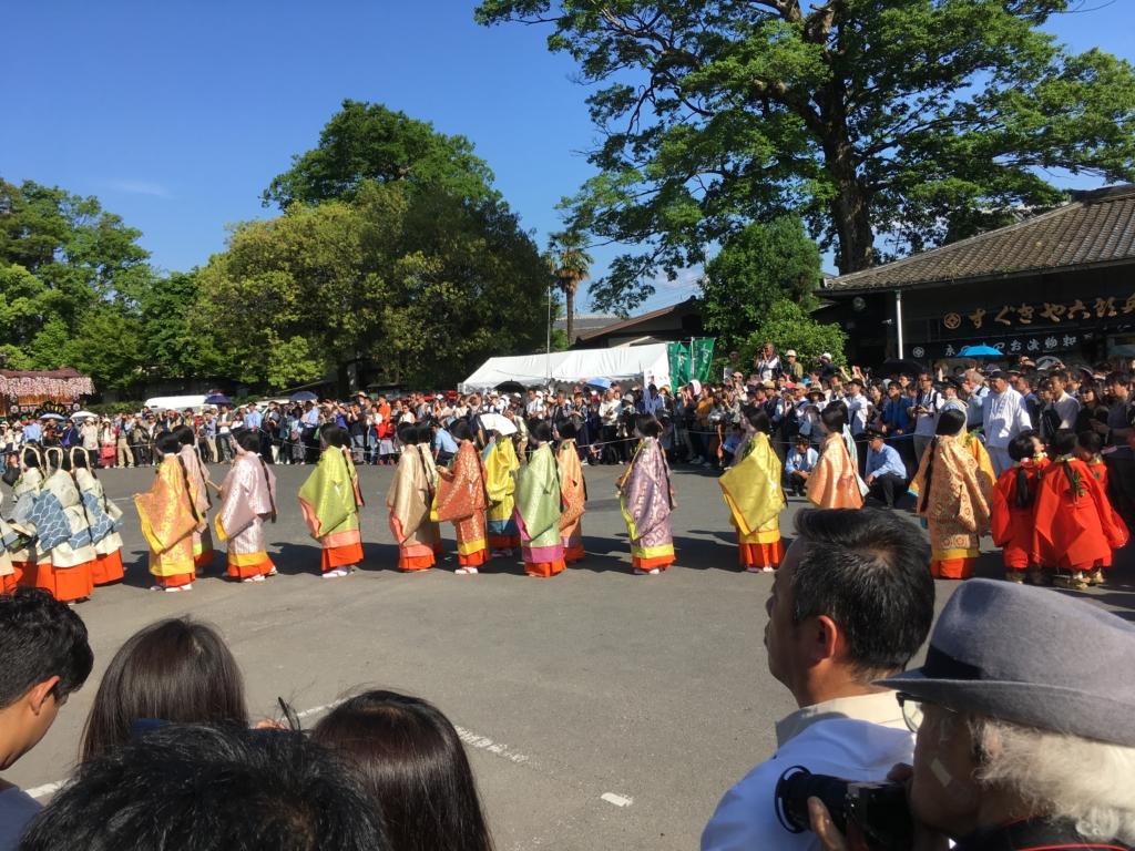 葵祭 上賀茂神社 混雑 観光客