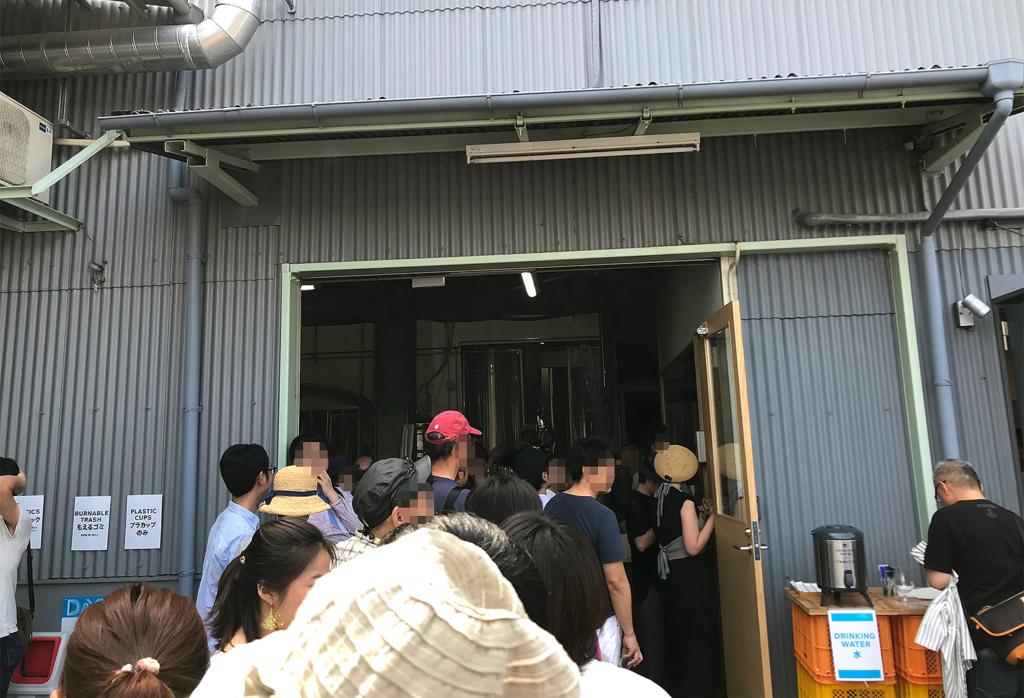 京都醸造株式会社 KCB祭り並ぶ