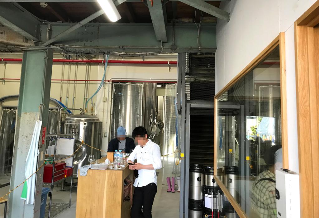 京都醸造株式会社 KCB祭り 飲食スペース
