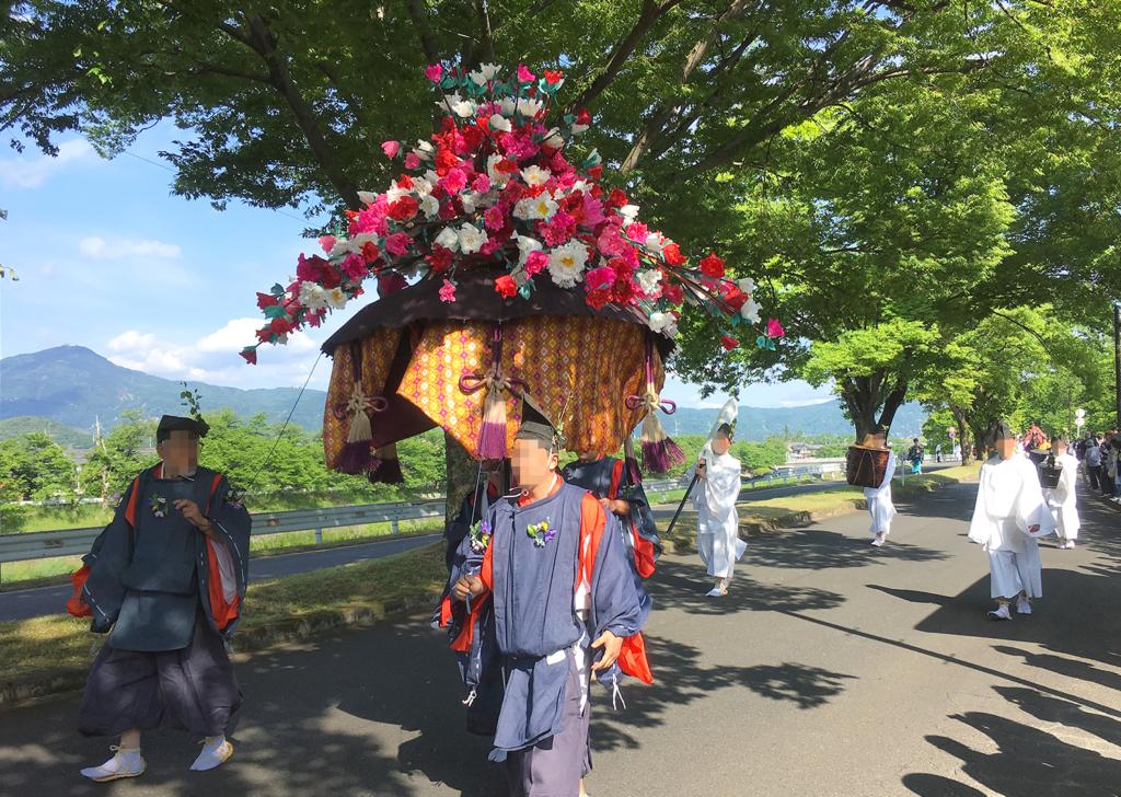 葵祭 風流傘